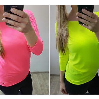 Jednoduché neonové tričko Nicollet