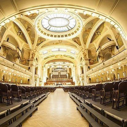 Vstupenka na Symfonický galakoncert ve Smetanově síni, 26. května 2018.