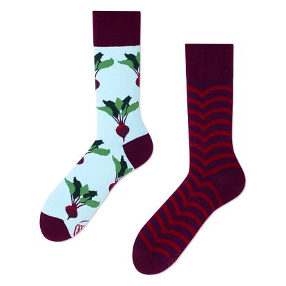 Ponožky Many Mornings Beetroots,vel.43–46