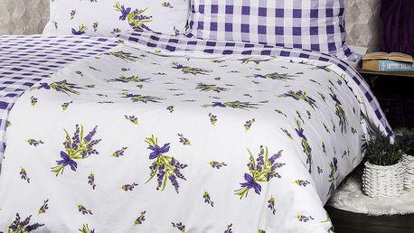 4Home Bavlněné povlečení Provence, 140 x 200 cm, 70 x 90 cm