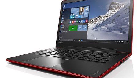 Notebook Lenovo IdeaPad 510S-13IKB červený + dárky (80V0000XCK)