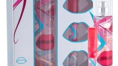 Salvador Dali Crazy Kiss dárková kazeta pro ženy toaletní voda 50 ml + toaletní voda 8 ml
