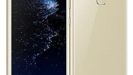 Mobilní telefon Huawei P10 Lite Dual SIM zlatý + dárek (SP-P10LITEDSGOM)