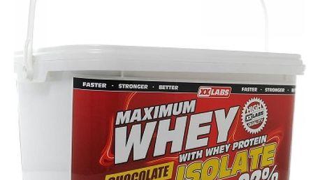 Maximum Whey Protein Isolate 2200 g čokoláda