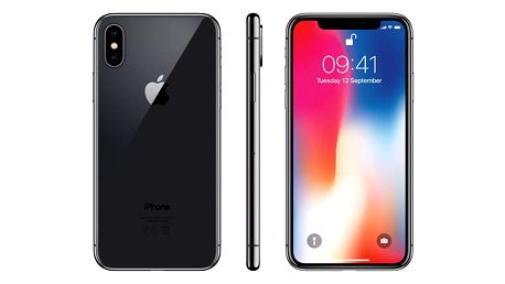 Mobilní telefon Apple iPhone X 256 GB - Space Gray + dárek (MQAF2CN/A)