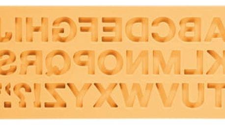 TESCOMA silikonové formičky DELÍCIA DECO, abeceda