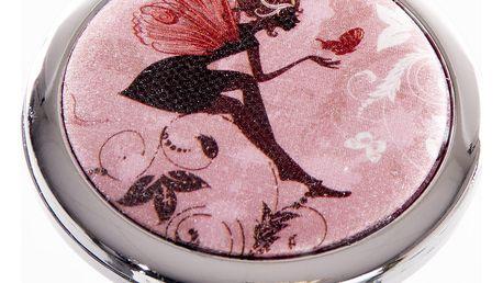 Kapesní kosmetické zrcátko Girls růžové