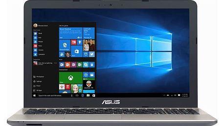 Notebook Asus X541UA-DM1233T černý + dárky (X541UA-DM1233T)