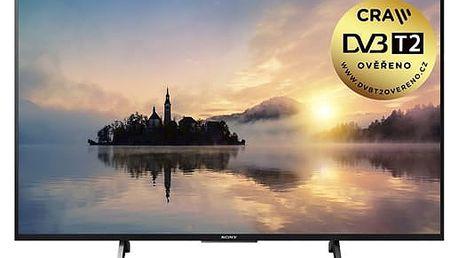 Televize Sony KD-55XE7005B černá