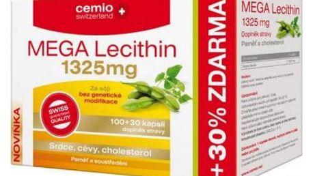 CEMIO Mega Lecithin 1325 mg 100 + 30 kapslí zdarma