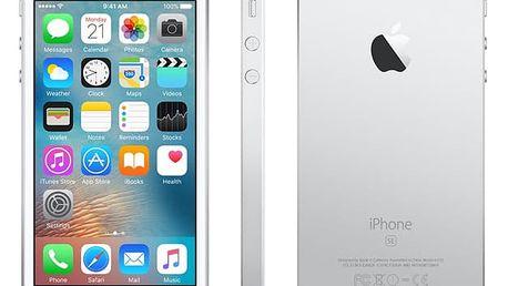 Mobilní telefon Apple iPhone SE 32 GB - Silver + dárky (MP832CS/A)