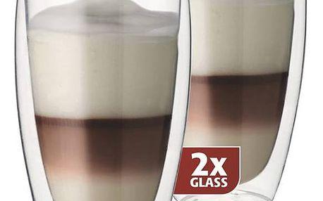 MAXXO DG832 latté dvoustěnné termo sklenice 2ks