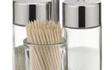 TESCOMA souprava sůl, pepř a párátka CLUB