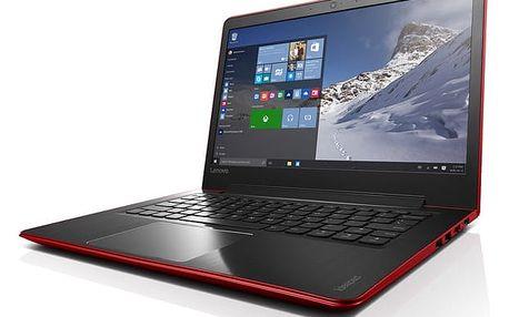 Notebook Lenovo 510S-13IKB (80V0000XCK) červený Software F-Secure SAFE, 3 zařízení / 6 měsíců + Monitorovací software Pinya Guard - licence na 6 měsíců v hodnotě 979 Kč + DOPRAVA ZDARMA