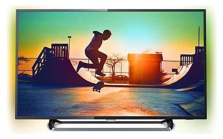 Televize Philips 55PUS6262 stříbrná + Doprava zdarma