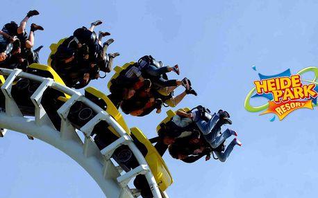Heide Park - den ve špičkovém zábavním parku v Německu