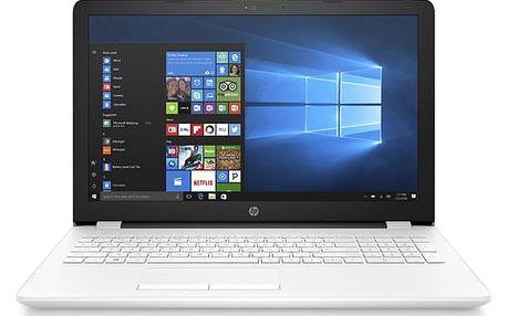 Notebook HP 15-bw027nc bílý + dárky (1TU90EA#BCM)