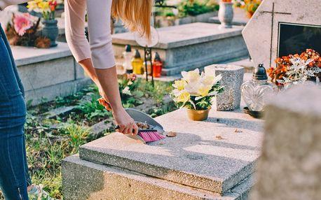 Jednorázová péče o hrob či jeho údržba 4× za rok