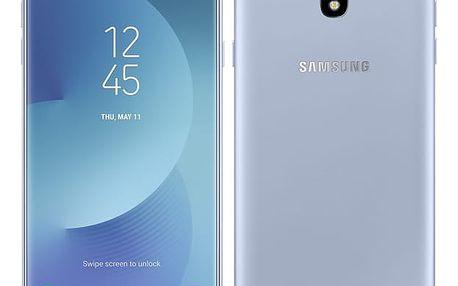 Mobilní telefon Samsung J7 2017 (J730F) (SM-J730FZSDETL) stříbrný