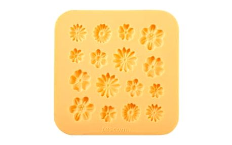 TESCOMA silikonové formičky DELÍCIA DECO, květinky