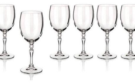 BANQUET CRYSTAL Lucille sklenice na bílé víno, 200ml, 6ks, 02B4G005200