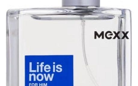 Mexx Life Is Now For Him 50 ml toaletní voda pro muže