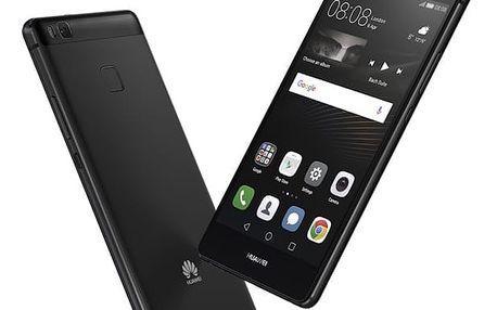 Mobilní telefon Huawei P9 Lite Dual SIM černý + dárek (SP-P9LITEDSBOM)