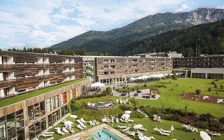 Rakousko - Nassfeld na 3 až 8 dní, polopenze s dopravou vlastní