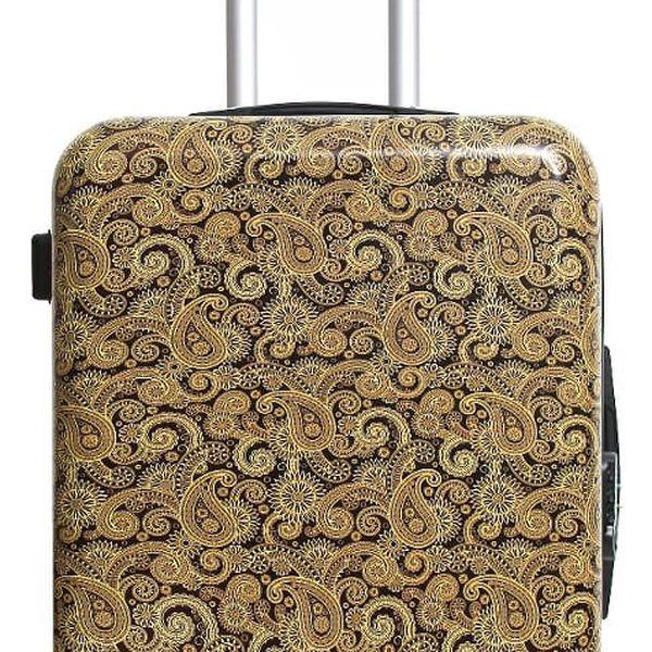 Cestovní kufr na kolečkách s potiskem INFINITIF Odense, 81l
