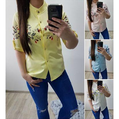 Dámská košile s potiskem Carly