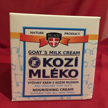 Výživový pleťový krém s kozím mlékem - 50 ml