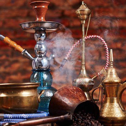 Čajovna u Vltavy: vodní dýmka a výběr z menu