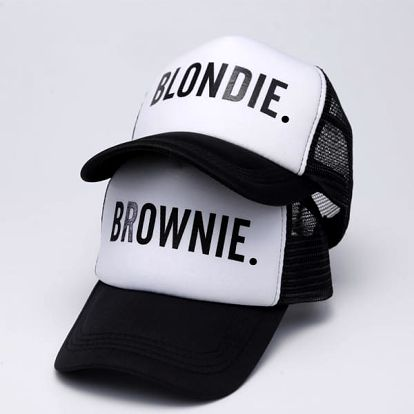 Unisex truckerka Blondie/Brownie