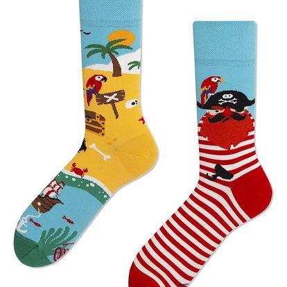 Ponožky Many Mornings Pirate Island,vel.43–46