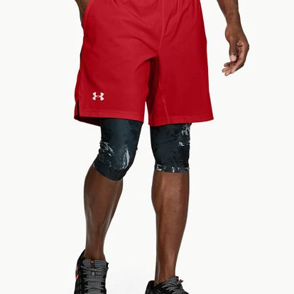 Kraťasy Under Armour Launch Sw Long Short Červená