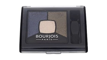 BOURJOIS Paris Smoky Stories Quad Eyeshadow Palette 3,2 g oční stín pro ženy 10 Welcome Black
