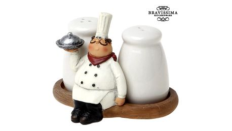 Salt and pepper set Bravissima Kitchen 8861 2 pcs
