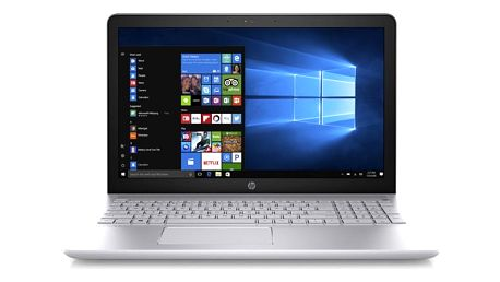 Notebook HP Pavilion 15-cc004nc stříbrný + dárky (1UZ91EA#BCM)