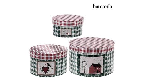 Ozdobná krabice Homania 7611 3 uds Carboard