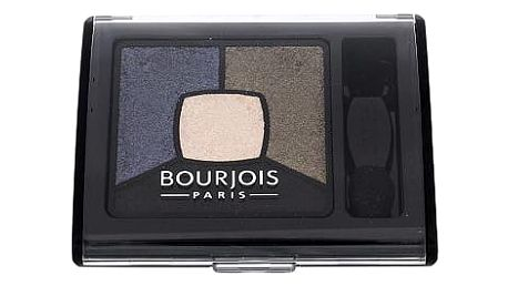 BOURJOIS Paris Smoky Stories Quad Eyeshadow Palette 3,2 g oční stín 10 Welcome Black W