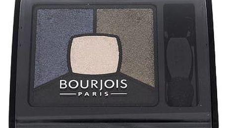 BOURJOIS Paris Smoky Stories Quad Eyeshadow Palette 3,2 g oční stín 10 Welcome Black W
