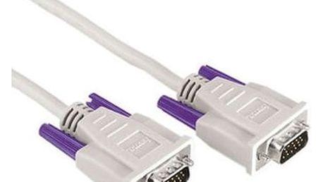 Kabel Hama VGA, 1,8m šedý (42089)