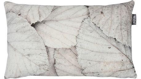 Šedý polštář Walra Ties, 30x50cm