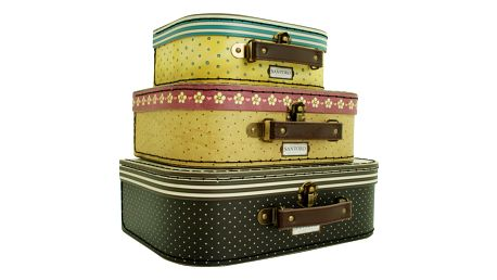 Sada 3 úložných kufříků Santoro London Gorjuss Nesting