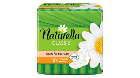Naturella Camomile Classic normal hygienické vložky s jemnou vůní 10 ks/bal.