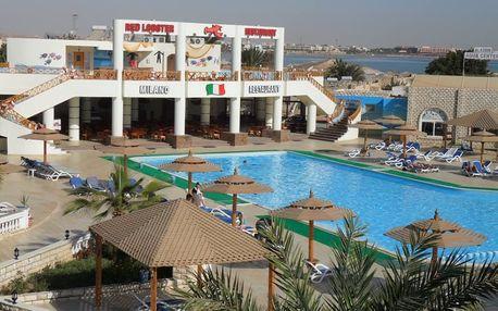 Egypt - Hurghada na 9 až 15 dní, all inclusive s dopravou letecky z Prahy