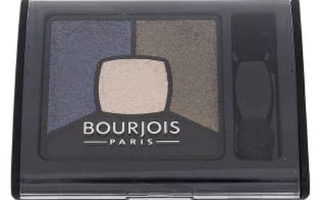 BOURJOIS Paris Smoky Stories Quad Eyeshadow Palette 3,2 g oční stín pro ženy 10 Welcome Black