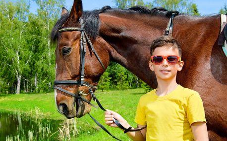 Letní příměstské tábory na koni pro děti od 7 let