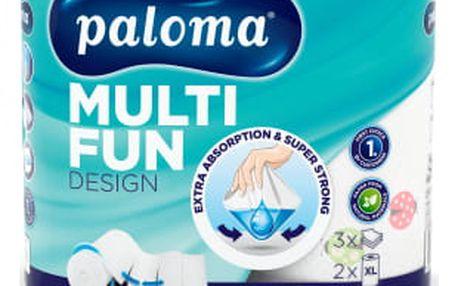 Paloma Multi Fun, kuchyňské megarole 3 vrstvy, 150 útržků 2 ks