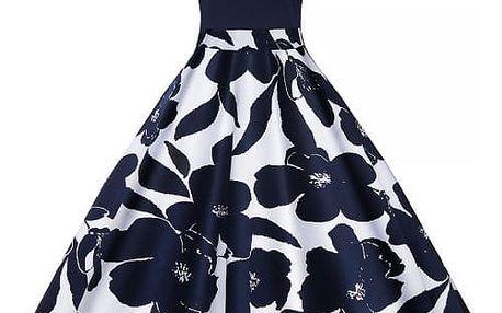 Květované šaty ve stylu vintage - 4 varianty